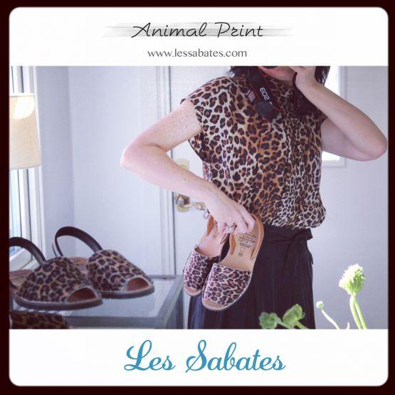 Avarcas Animal Print C. Ortuño