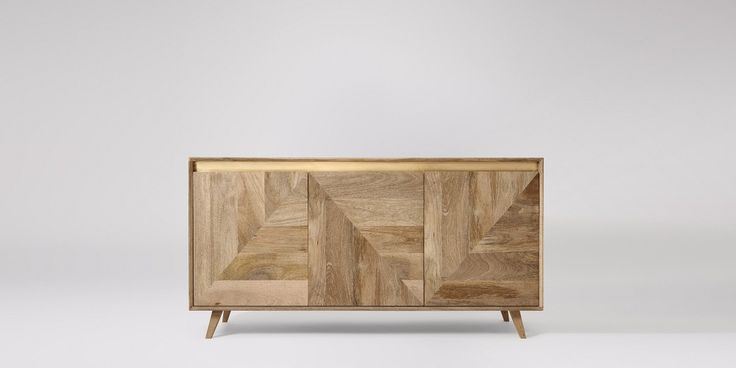 Karlsson Mango Wood & Brass Sideboard | Swoon Editions
