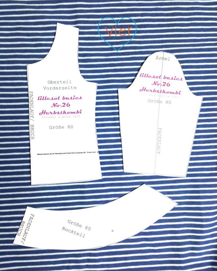 7. Türchen – Anleitung + kostenloses Schnittmuster für Puppenkleidung   lillesol & pelle Schnittmuster, Ebooks, Nähen