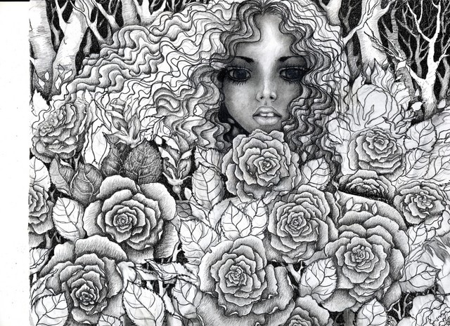Rose Garden By Vikachaeeta On DeviantART