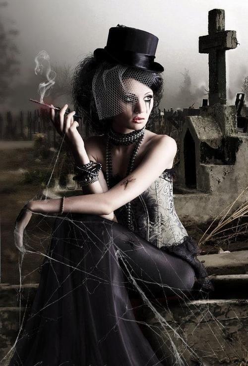Graveyard Vampire Art