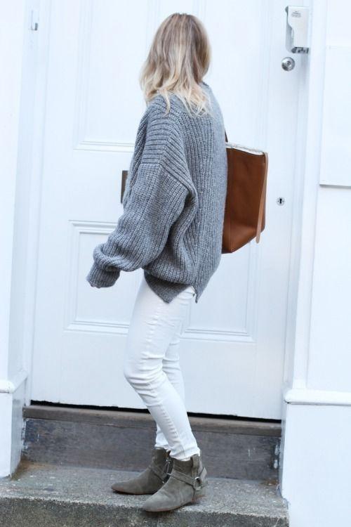 White pants & winter