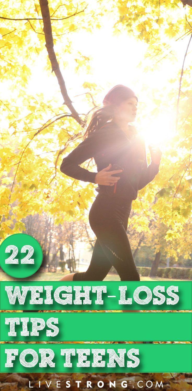 Teen weight loss advice