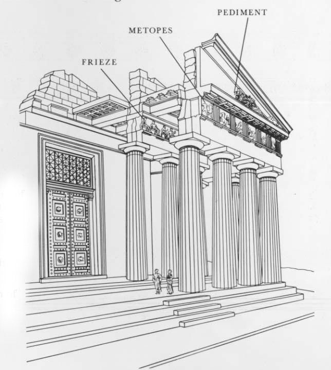 527111f328a340495a8d16bee8a6ae8c ancient greece page the parthenon history & sculpture page 3 ancient greece