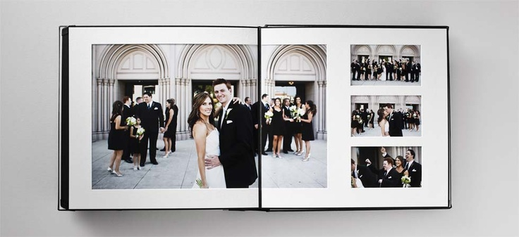 Pretty Wedding Albums by Queensberry.