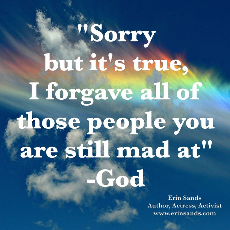 He forgave...why don't you? | Godinterest