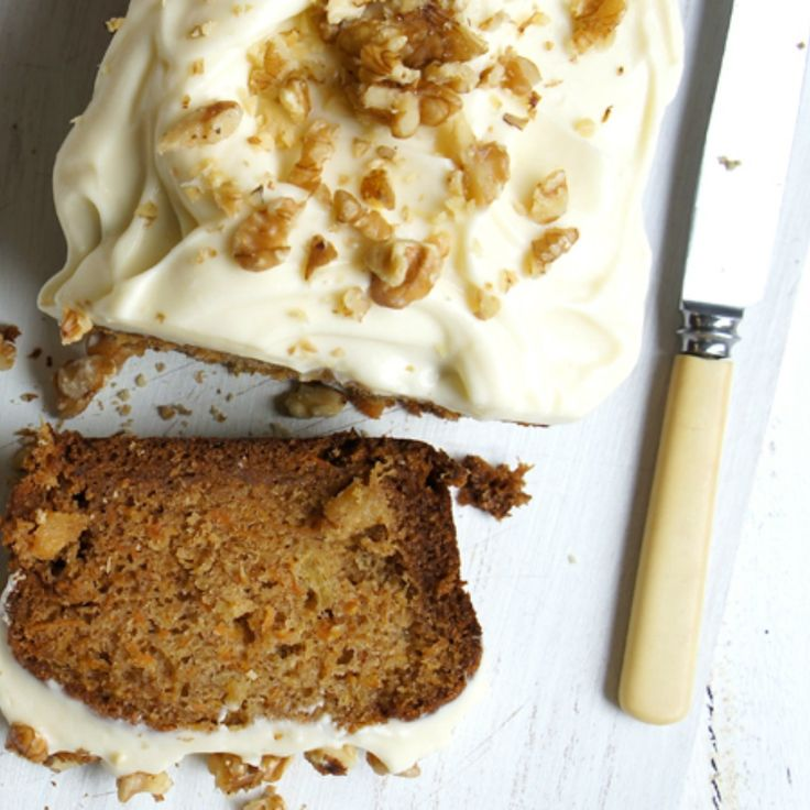 #RecipeoftheDay: Carrot Cake with Cream Cheese Topping by brennie