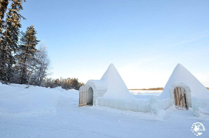 1000 id es sur le th me laponie sur pinterest finlande finlande paysage et - Dormir dans un igloo ...