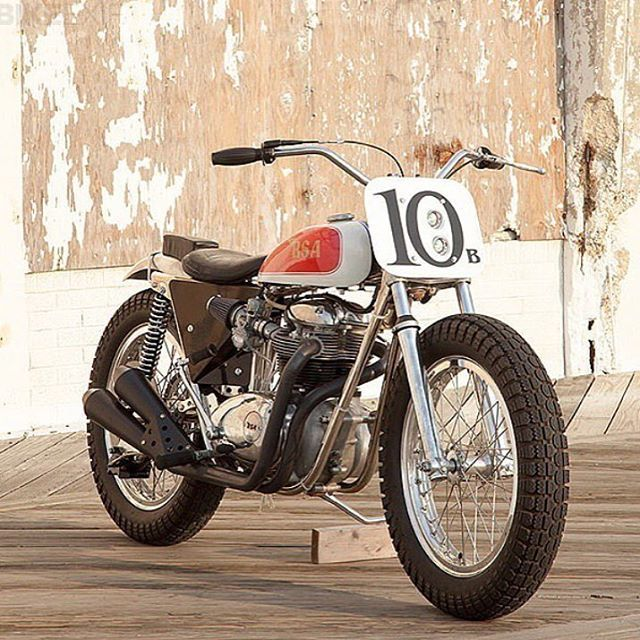 Street Legal BSA Trackmaster By Grooverphil Found Via Vintageracingspirit Bikeexif