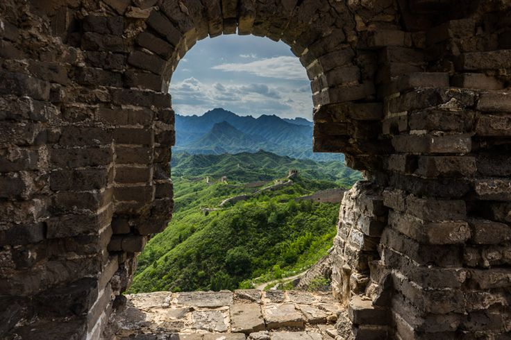 There are many different areas you can visit on the Great Wall of China. The Badaling section, with its restored façade and built-up  tourist infrastructure, is by far the most popular.  #greatwall #china #camping