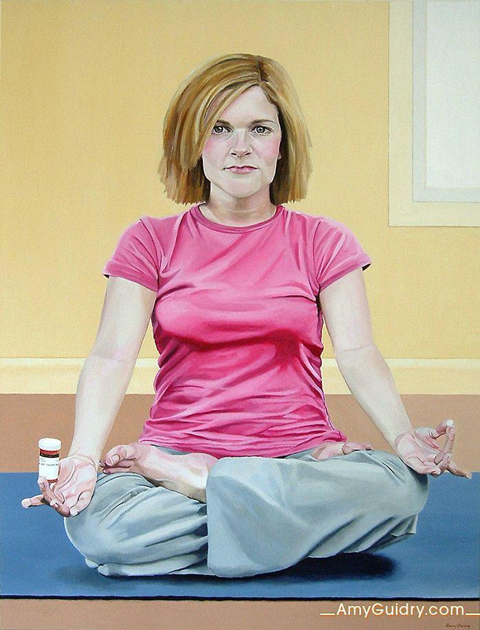 """Inner Peace - Acrylic on Canvas - 30"""" x 40"""""""