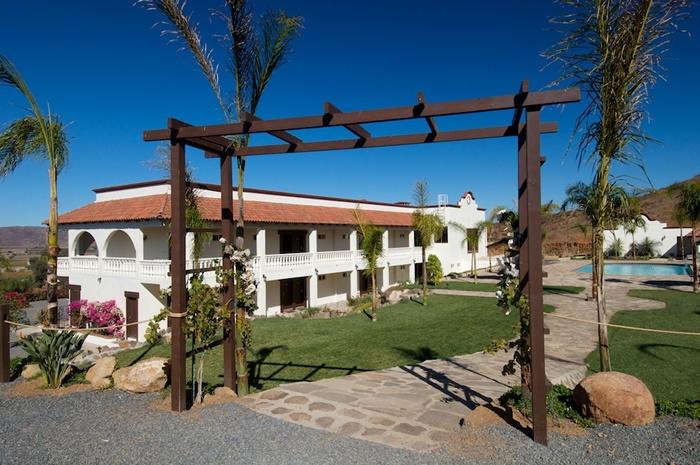 Hotel Hacienda Guadalupe.  Valle de Guadalupe, Ensenada, Baja California, México.
