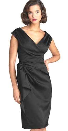 Как кроить и шить маленькое черное платье (с подробностями о примерке и вмётывании рукава)
