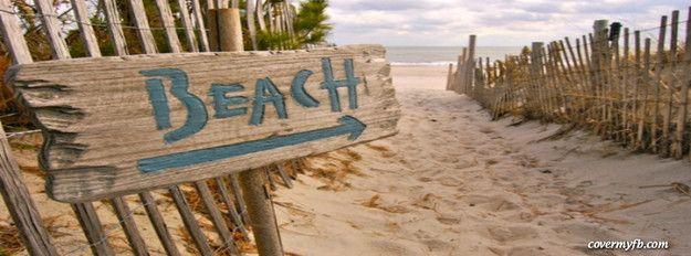 Follow to the Beach Facebook Cover