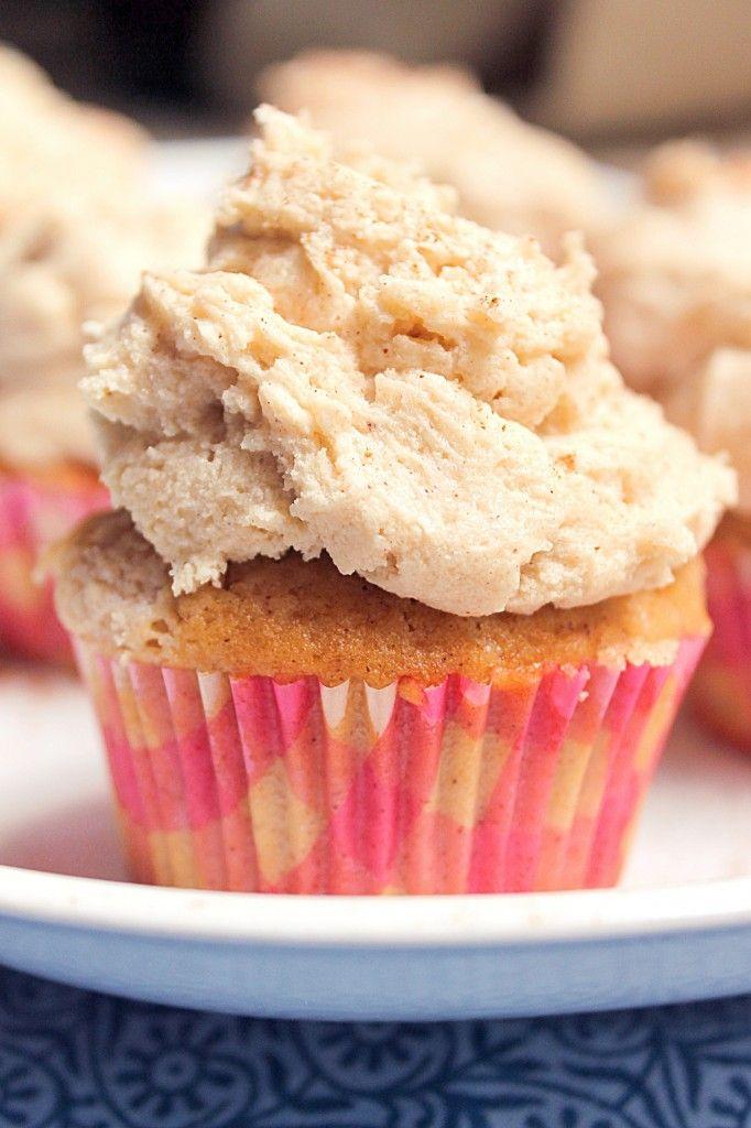 Snickerdoodle Cupcakes mit Brown Sugar Buttercream
