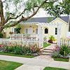 Emphasize the Entry Lacking height or grand proportions, small ranch-style homes can sometimes get lost in the shuffle. Good landscaping gets them noticed. For example, use an ornamental arbor or fence to call attention to the house and mark the entrance.