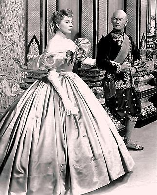 "RARE STILLYUL BRYNNER AND DEBRA KERR ""THE KING AND I"""