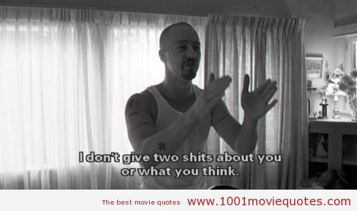 American History X 1998 Quote Movie Quotes Pinterest