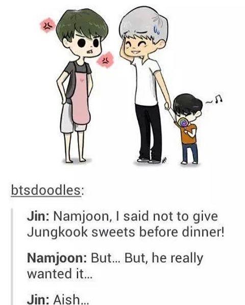 Namjin and Jungkook