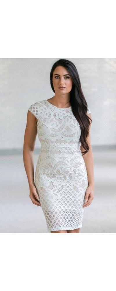 Lily Boutique Bel Air Beauty Lace Sheath Dress in Pale Mint, $34 Pale Mint Capsleeve Lace Dress, Mint Lace Pencil Dress, Cute Online Boutique…