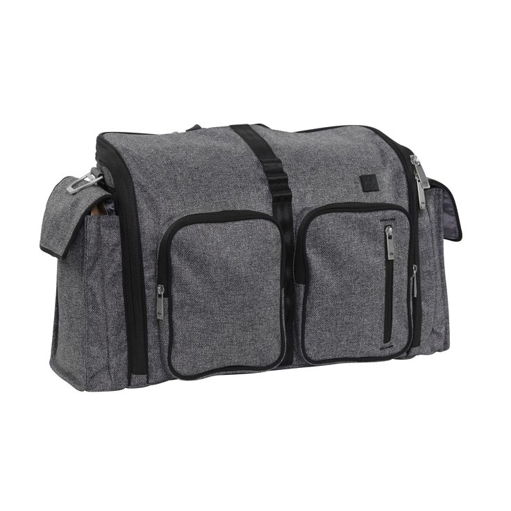XY-CLONE-GRAY MATTER Take a best selling Ju-Ju-Be, and morph it into a dad friendly bag. That's the Clone. Based on the easy zipper opening and detailed interior of the BFF, this bag already has years of proven function. Add in gusseted external bottle pockets, a memory foam changing pad, and dual front pockets to create the perfect specimen. After baby, transform this bag into an amazing camera bag. Sometimes you wish you could clone yourself, but with this bag, you won't have to.