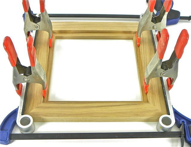 frame clamping with blokkz universal clamping blocks