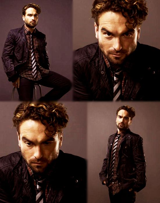Johnny Galecki, I would do the dirtiest things with you.  I am unashamed!