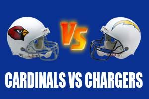 Watch Arizona Cardinals vs San Diego Chargers Game Live Online Stream
