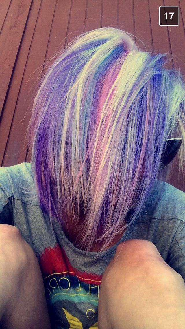 Pravana vivids, couleurs de cheveux pastel, couleurs de cheveux amusantes, cheveux de sirène ,, cheveux roses, cheveux violets, cheveux bleus, pravana, blonde #Sayyes