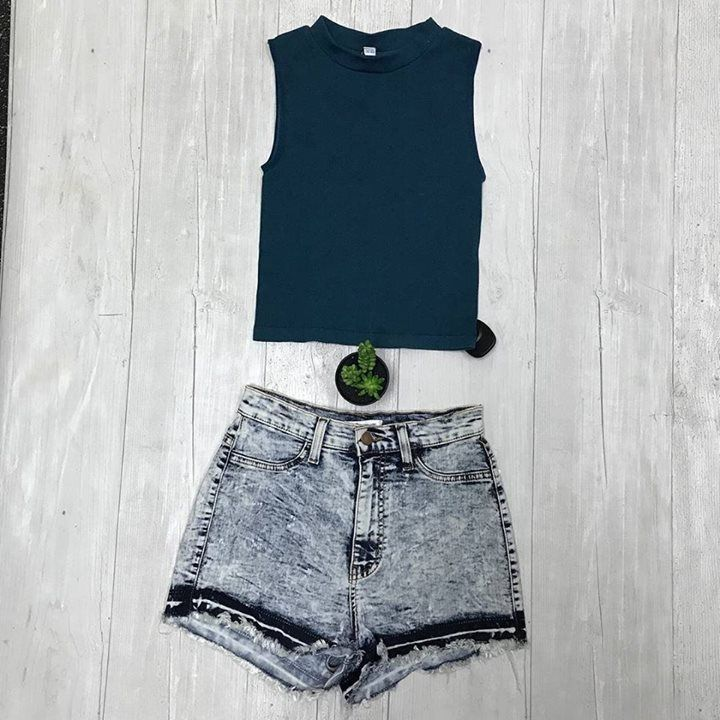 Ribbed tanks and denim shorts get em both at Schaumburg Plato's Closet! Ask any staffer for help putting your perfect spring outfit together! http://ift.tt/2prgKEU - http://ift.tt/1HQJd81