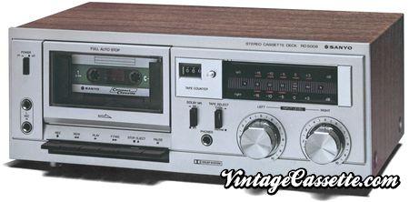 Sanyo RD 5008 Stereo  Cassatte  Deck circa 1974