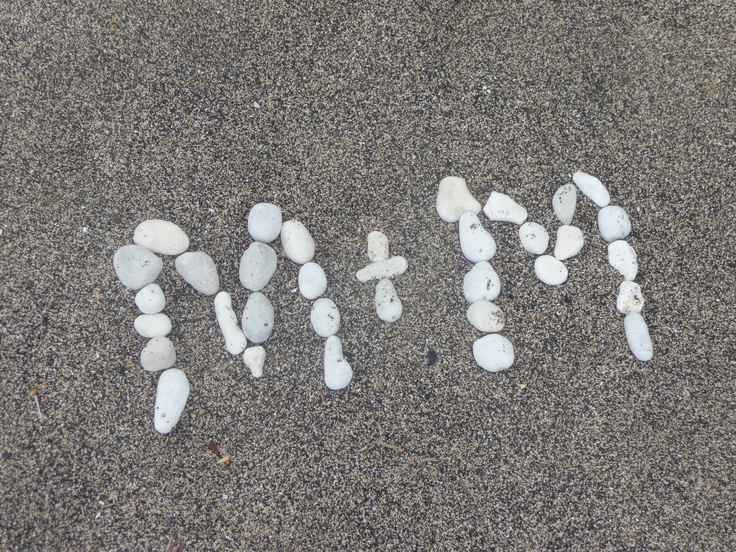Hawaiian Beach Art :)