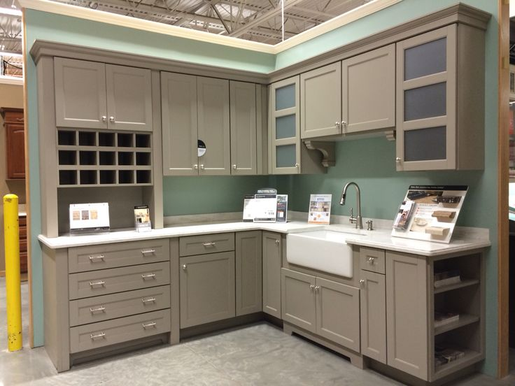 Best Martha Stewart Sharkey Grey Cabinets Cabinets 400 x 300