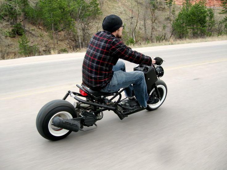 Honda Ruckus - low & long frame