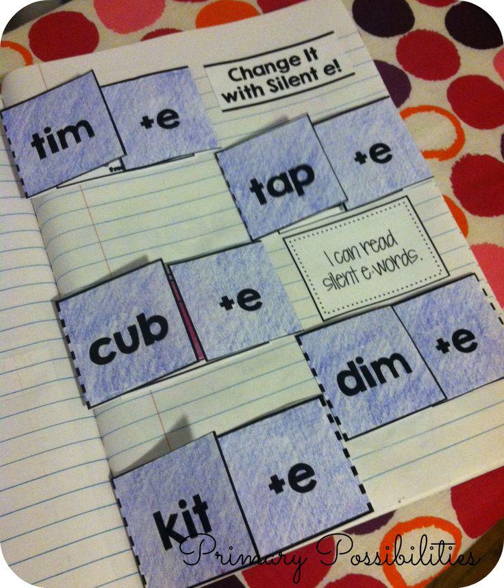 """Teacher Deals and Dollar Steals!: It's a """"Silent e"""" Interactive Notebook Deal!"""