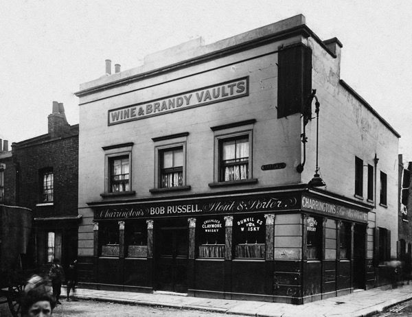 The Alfred's Head, 49 Gold St, Stepney, E1 (Opened prior to 1849, now demolished)