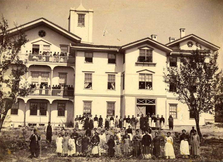 1894 amasya merzifon kız okulu açılışı amerikan koleji
