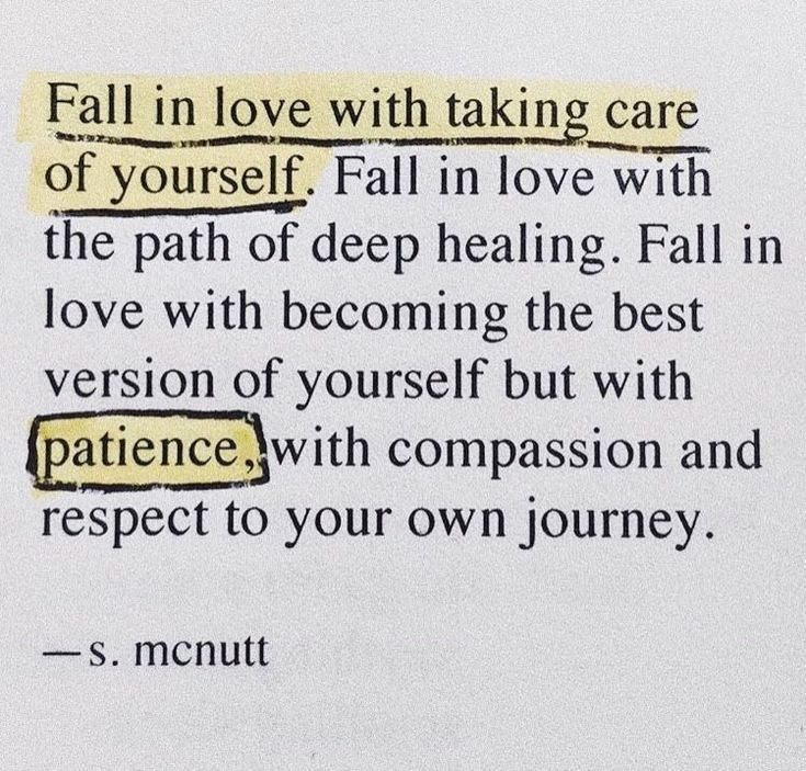 Fall In Love With Taking Care Of Yourself Fall In Love With The