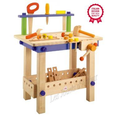 image etabli enfant jouet Sevi
