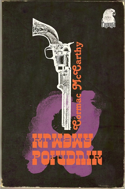 polish book cover Blood Meridian #gun