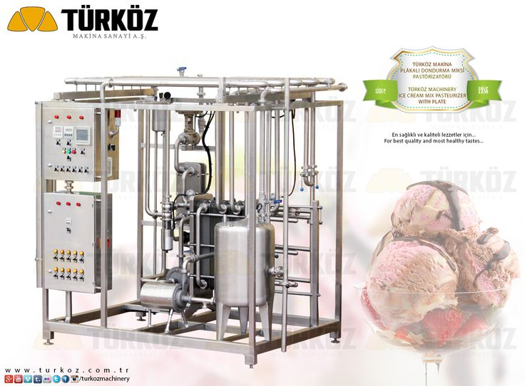 Türköz Machinery Ice-cream mix pasteurizer with plate - Türköz Makina Plakalı Dondurma Miksi Pastörizatörü www.turkoz.com.tr #icecream #mix #pastorizator #plate #plakali #dondurma #pasteurizer #cheese #ice #cream #turkey #manufacturer #sut #kaymak #pastorizatoru