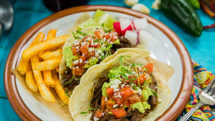 Recipe - Loaded Crockpot Carne Asada Tacos | Home & Family | Hallmark Channel