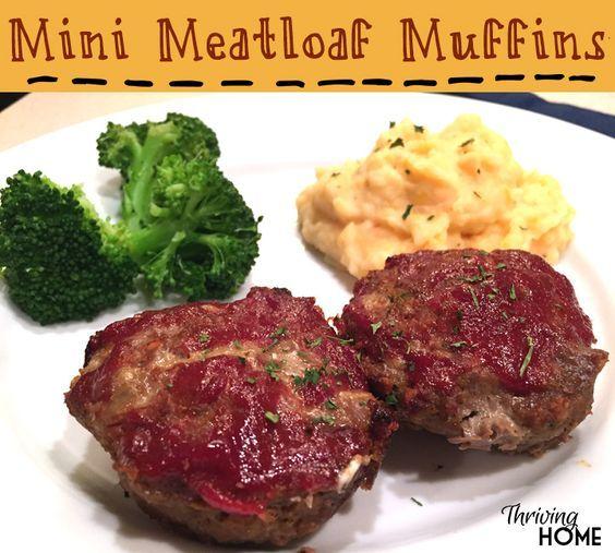 Mini Meatloaf Muffins!