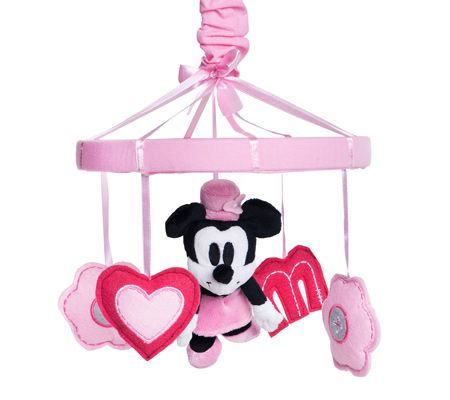 How can disney do this to me?! When I was pregnant for Alysia I searched everywhere for Minnie Nursery Stuff!!!