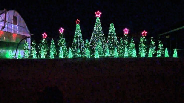 Jingle Bells Techno - Synchronized Christmas Light Show to Music