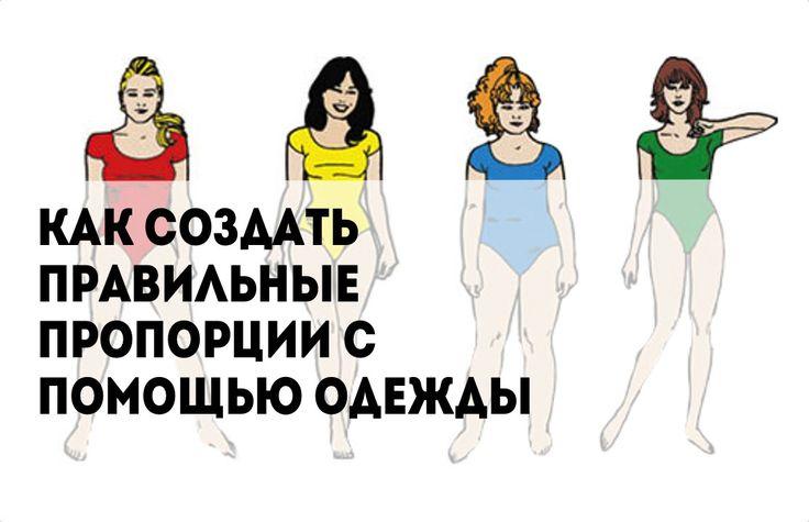 Как создать правильные пропорции с помощью одежды//Советы стилиста