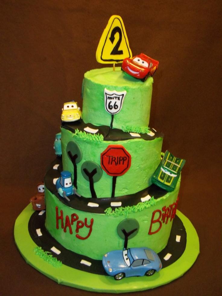Best 25 Car Birthday Cakes Ideas On Pinterest Race Car