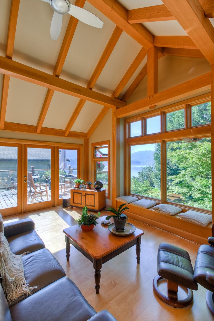 West Coast Contemporary - Kettle River Timber Frame