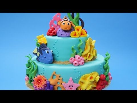 How to make a Finding Nemo Cake | Rosanna Pansino