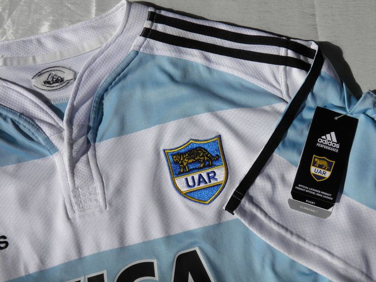 Argentina Rugby Shirt XL - UAR Pumas Jersey -Climacool Official Licensed Product